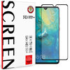 Full Coverage Tempered Glass Screen Protector for Huawei Mate 20 - Black